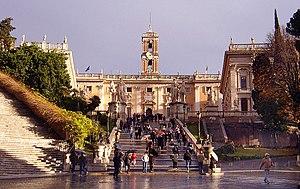English: Capitoline Hill, Rome. Image:Fratelli...