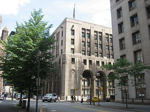 English: The Pittsburgh City-County Building i...