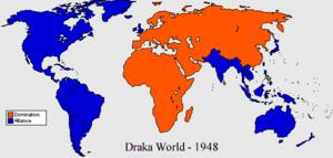 Drakaverse world map 1948