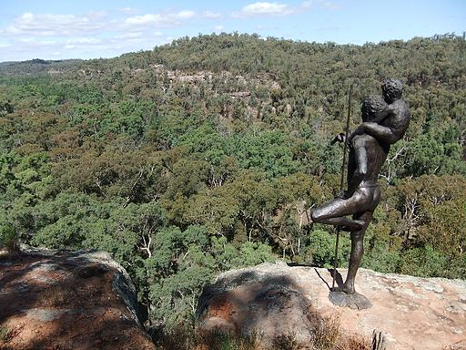 First Lesson (Sculpture) - Pillaga Scrub