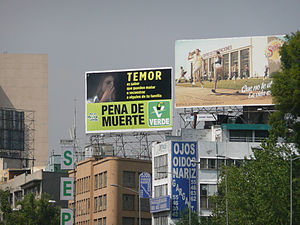 An ad from the Ecologist Green Party in Mexico...