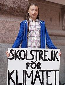 Greta Thunberg militante écologique