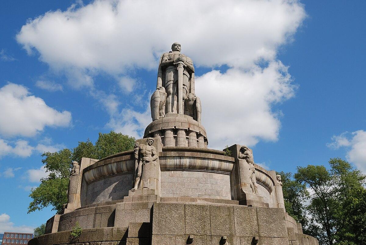 Bismarck Denkmal Hamburg Wikimedia Commons