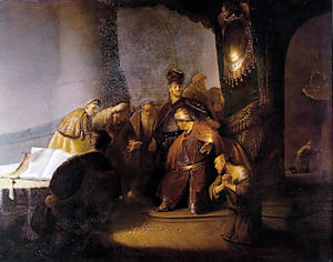 Rembrandt's Judas Returning the Thirty Silver ...