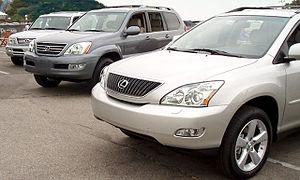 Lexus Luxury Utility Vehicles