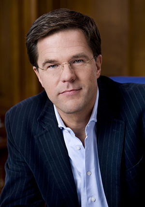 Mark Rutte, Dutch politician and, leader of th...