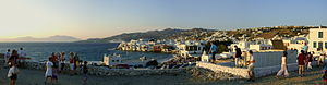 view of Mykonos, Greece Italiano: Veduta di My...