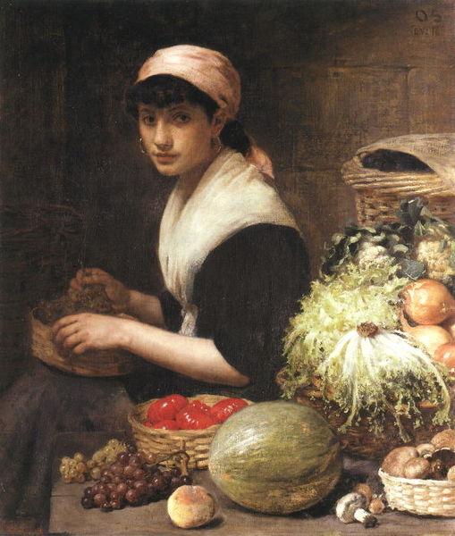 File:Otto Scholderer Gemüseverkäuferin.jpg