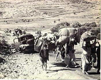 English: Palestinian refugees (British Mandate...
