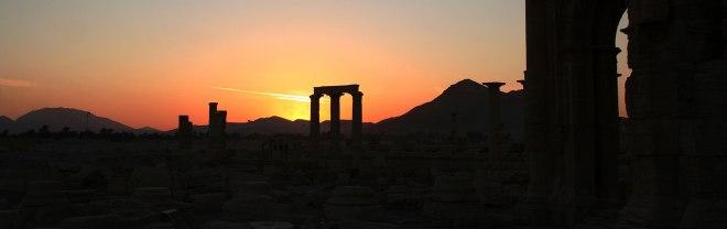 Palmira cercada por Estado Islámico