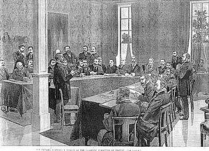 1891 Panama Canal Company Liquidation Court Tr...