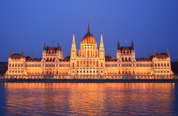 Parliament Building, Budapest, outside