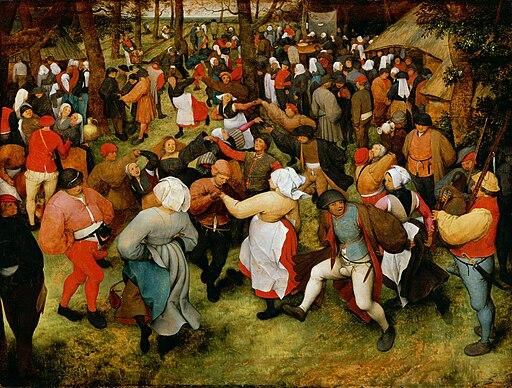 Pieter Bruegel de Oude - De bruiloft dans (Detroit)