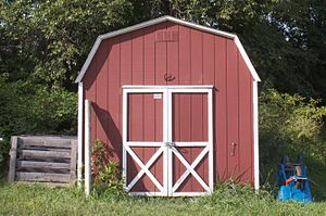 A garden shed