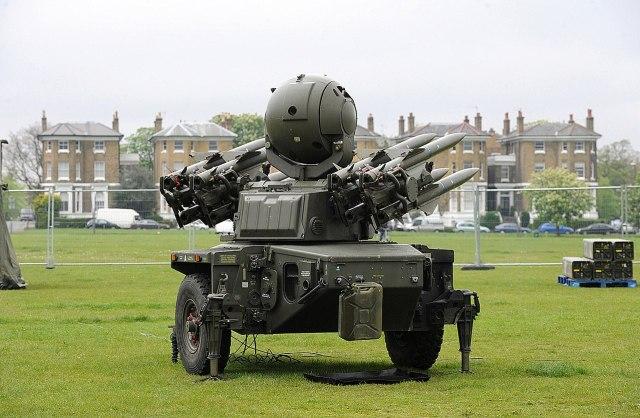 Sollen durch ein neues System ersetzt werden: Luftabwehrraketen Rapier