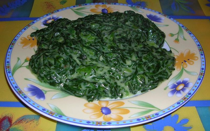 Don't Like Cereal? Eat boiled spinach, crazy person.