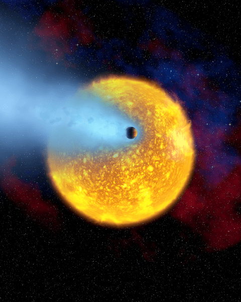 Jupiter caliente analizado. Alfred Vidal-Madjar.