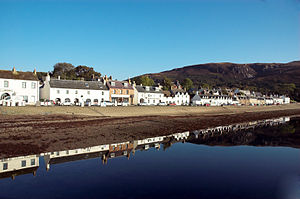 Ullapool on a sunny day.