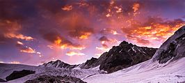 A Sunrise on Kalindi mountain Himalayas Uttarakhand India.jpg
