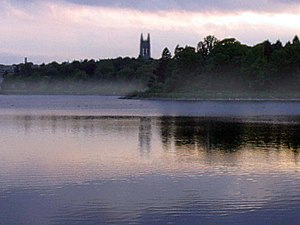 The Chestnut Hill Reservoir is located in the ...
