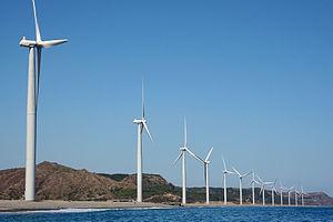 Bangui Windfarm, Ilocos Norte, Philippines