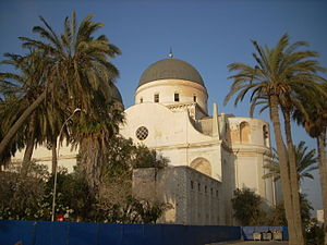 The former Benghazi Cathedral, which was later...