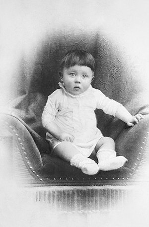 The novel charts Hitler's childhood from the p...