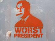 Bush Stenil Worst President