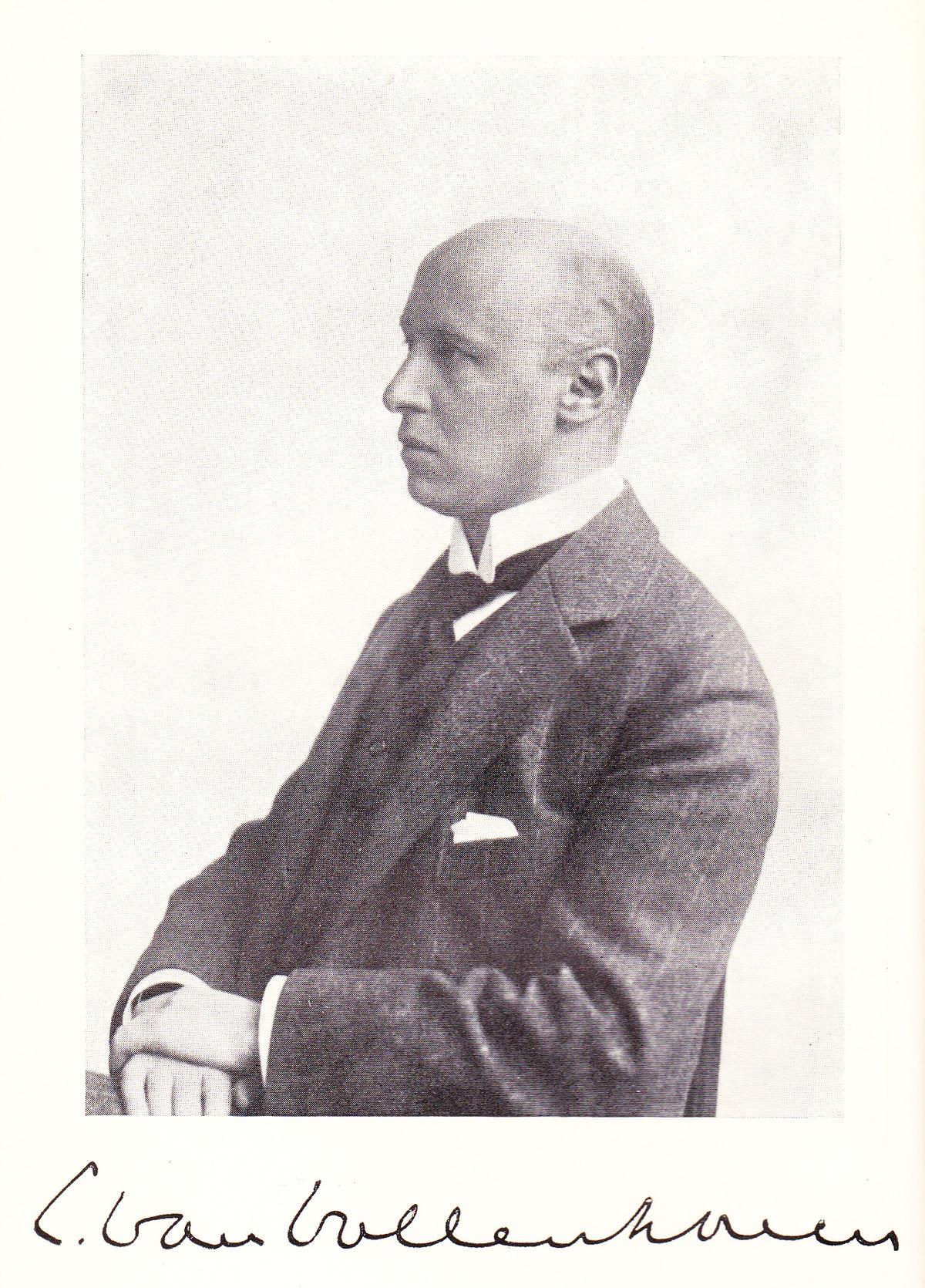 Cornelis Van Vollenhoven Wikipedia