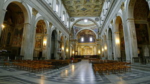 English: The interior of the cathedral of Citt...