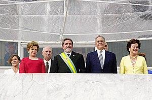 President Luiz Inácio Lula da Silva and wife M...