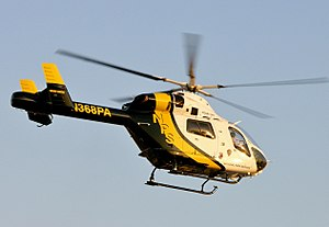 MD900 on contract to the National Park Service...