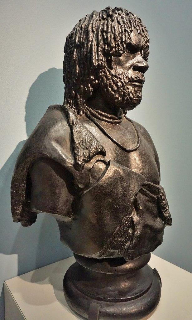 National Portrait Gallery, Canberra, Australia - Joy of Museums - Woureddy, an Aboriginal Chief of Van Diemen's Land
