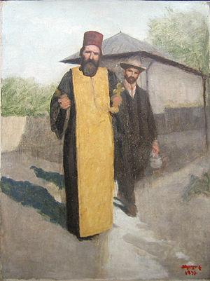 Nicolae Petrescu Mogoş (1872 - 1934) - Preot ş...