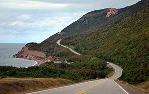 English: Nova Scotia Cape Breton Island Cabot ...