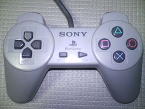 Controller for PlayStation, bundled with early...