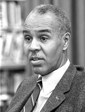 Roy Wilkins, former NAACP president.