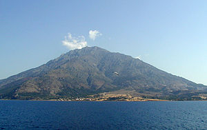 Samothrace, with Mt. Fengari in the background.