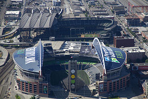 """Centurylink"" Field, Safeco Field"