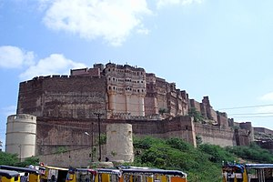 Mehrangarh Fort in India