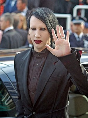 Manson at the 2006 Cannes Film Festival.