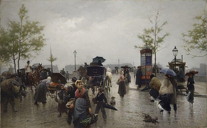 File:Nicolas Sicard, Pont de la guillotière à Lyon.jpg