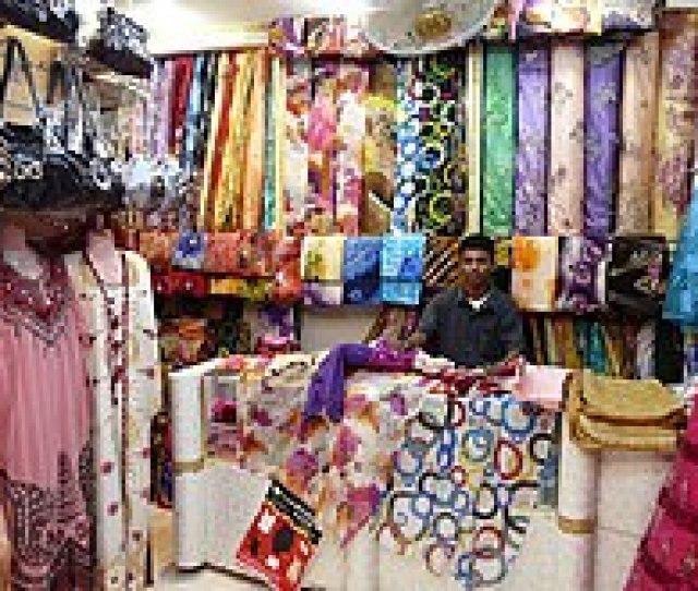 Fabric Shop In Canal Town Mukalla Yemen