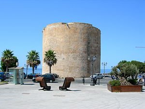 English: Piazza Sulis in Alghero (Sardinia), I...