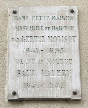 Français : Plaque commémorative, 40 rue Paul V...