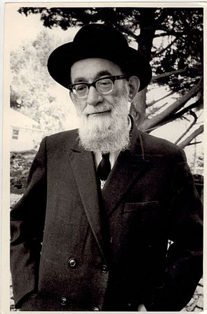 rabbi gedalia eismann