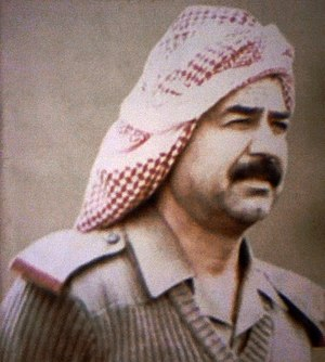English: President Saddam Hussein of Iraq, fro...