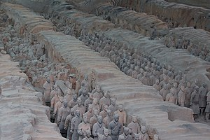 Terracotta Army Pit 1 - in Xi'an, China