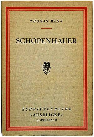 Deutsch: Thomas Mann: Schopenhauer. Stockholm:...