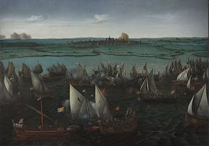 Battle of Haarlemmermeer, 1621, by Hendrick Co...